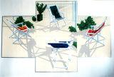 Deckchairs Silkscreen
