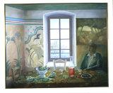 Greek-Interior with Minoan Woman