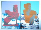 Greek-Postcards Minatuar&Sphinx