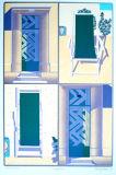 quadrille--silkscreen