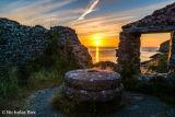 Evening light Aberfeline cove