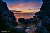 Late evening light, Aberfeline cove