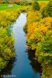 River Till from the Viaduct, Nr. Twizel Bridge