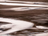 River Dovey estuary at low tide