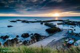 St. Abbs harbour sunrise
