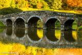 The Bridge on Stourhead lake