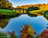 The lake and bridge at Stourhead