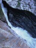 Waterfall at Trebarwith Strand