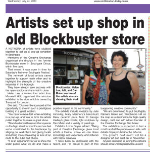 Today in Enfield Advertiser