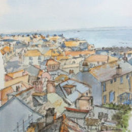 Rooftops St Ives