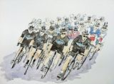 Team Sky in the Tour Down Under