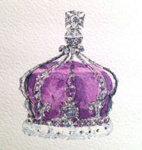 Queen Mary's Crown with arches