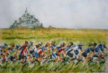 Tour de France Mont Saint-Michel
