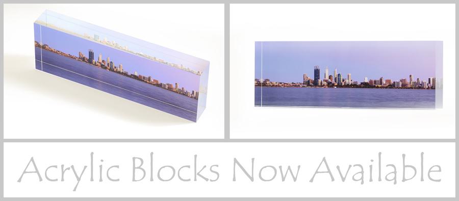 Acrylic Blocks Now Available