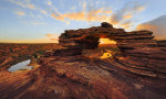 Nature's Window Sunrise, Kalbarri National Park