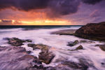 North Cottesloe Storm at Sunset