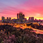 Perth Sunrise From Kings Park Photo by Michael Willis Photography