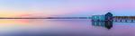 Sunrise at Crawley Edge Boatshed