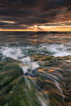 Sunset at Watermans Beach
