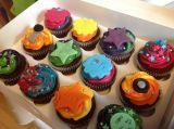 Disco party cupcakes