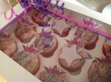 Princess barbie popstar cupcakes