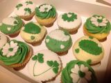 Irish themed cupcakes