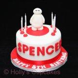Big hero 6 cake