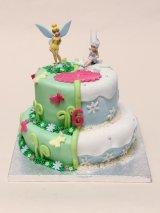 Tinkerbell Periwinkle cake