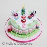 Peppa picnic cake