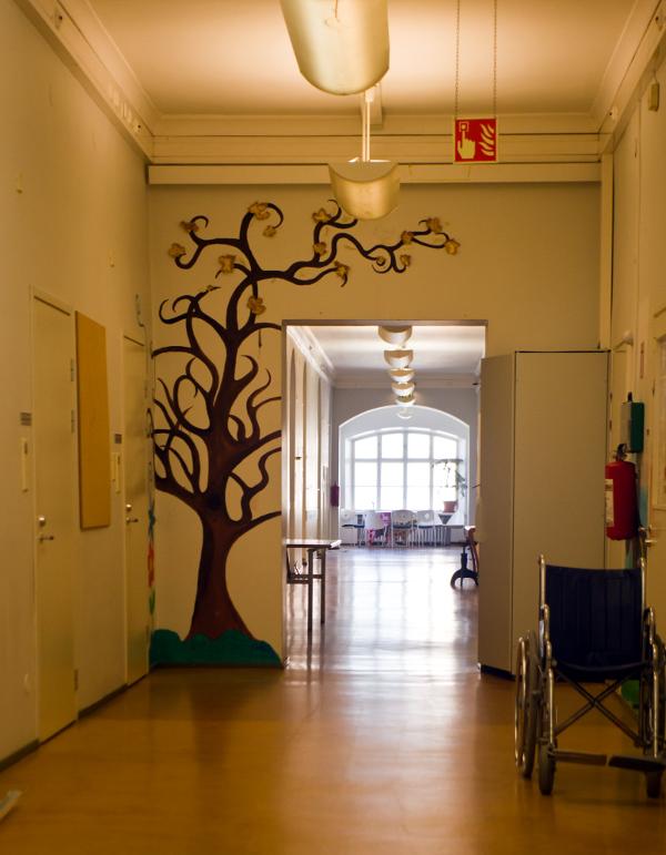 Lapinlahti psychiatric hospital in 2016
