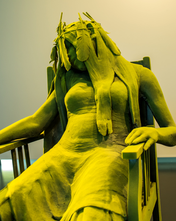 Resting Moss Woman