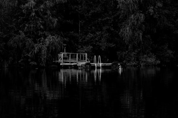 Jetty on Saimaa Lake