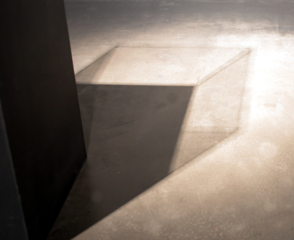 Shadow of a cube