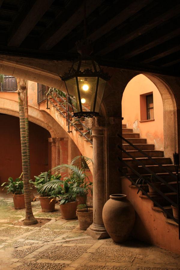 Courtyard Palma Majorca