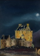 Eileen Donan by man's light