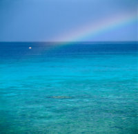 Curacao-Sea, Rainbow sm boat