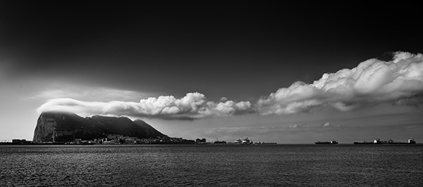 Gibraltar Clouds