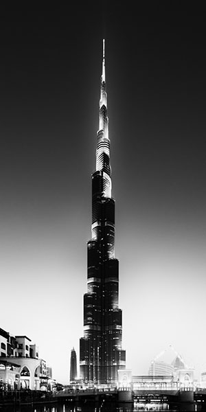 One of a series of photos that i took of the tallest building in the world the burj khalifa in dubai