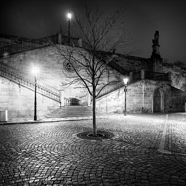 Charles Bridge Stairs