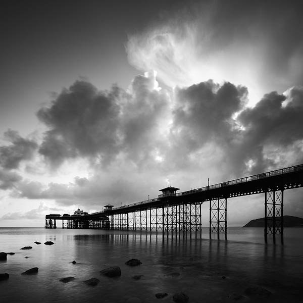 Llandudno Pier at Dawn #1