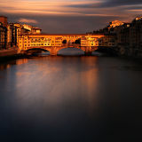 Ponte Vecchio at Sunset