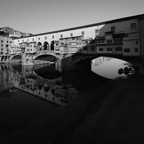 Ponte Vecchio at Dawn