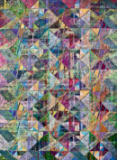 Summer Shower Acrylic on Canvas 122x91cms
