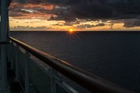 Sunrise over Las Palmas de Canarias