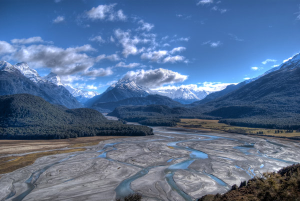Dart River valley