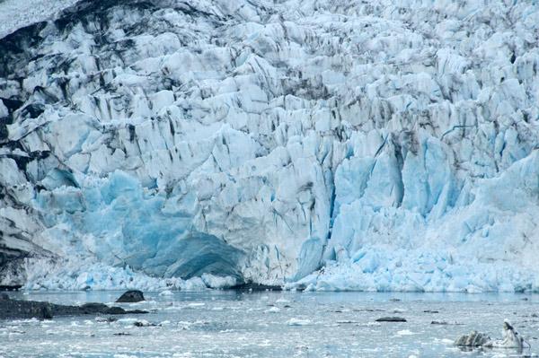 Smith Glacier face