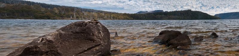 Lake St Clair panorama