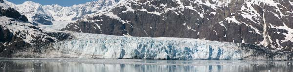 Margerie Glacier panorama