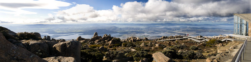 top of the world - Tasmania style