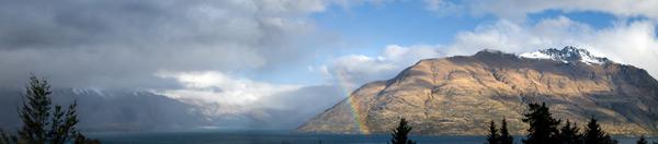 Remarkable rainbow